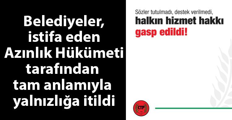ozgur_gazete_kibris_ctp_yerel_yonetimler_azinlik_hukumeti